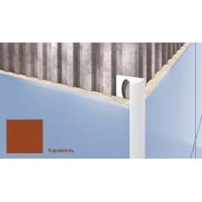 Профиль для плитки CEZAR внешний 7мм карамель