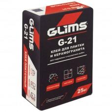 GLIMS-G 21 Клей для плитки и керамогранита (25 kg)